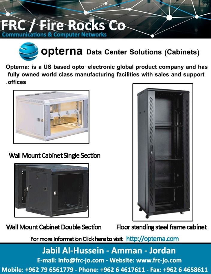 Fire Rocks Company Data Center Solutions (Cabinets)